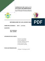 METABOLISMO DE ACIDOS NUCLEICOS 1.doc
