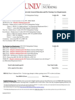 Nursing BSN Prerequisite Checklist