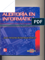 Auditoria en Informática (José Antonio Echenique García) 2da Edición