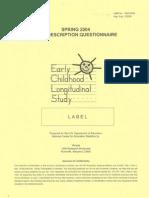 Childselfdescription - SDQ I Marsh