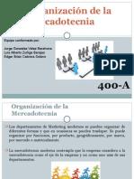 Organización de la Mercadotecnia.