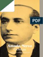 Amado Nervo Crónicas