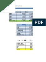 Rentabilidad Mixta - Modelo CPAM 2014