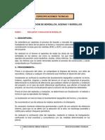 Esp. Tecnicas Construcción de Bordillos, Aceras y Bordillos