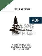 Buku Panduan Wisata Bali