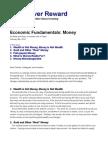 Economic Fundamentals Money PDF