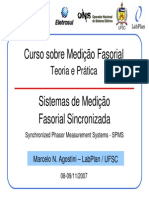 Curso Sobre Medicao Fasorial - Teoria e Pratica - Agostini_UFSC
