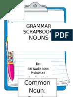 Grammar Scrapbook