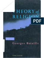 Bataille. Theory of Religion
