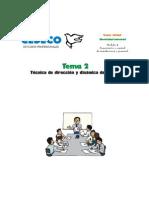 02 - Tecnica de Direccion y Dinamica de Grupos
