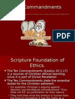 appendix 2a - the commandments and bioethics