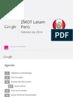 ZMOT Realizado en Perú