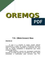 Oremos - Watchman Nee