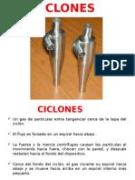 Ciclones industriales