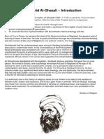 abu hamid al-ghazali - introduction