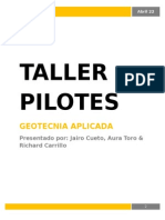 Taller Pilotes