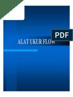 Alat Ukur Flow