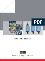 Mini Bch Make Limit Switches