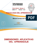 4 Dimensiones Aplicativas Del Aprendizaje Part.1