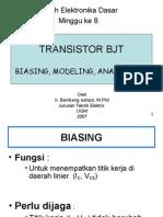 Kul Eldas8 o7 Transistor Bjt