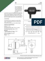 Condensate Pot Dimensions - Saton Instruments