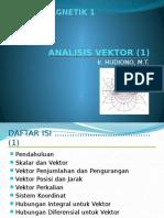1. Analisis Vektor-1
