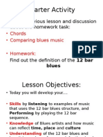 Blues Lesson 3