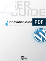 InnovationScience2 WP UserGuide