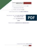 Prácticas de Laboratorio de Mineralogía II