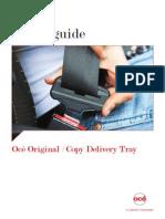 Océ Original Copy Delivery Tray Safety Guide en.us