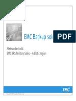 EMC Backup Solutions