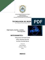 Monografía de ADSL