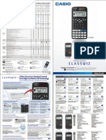 Classwiz EX Catalog