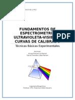 Fundamentos de Espectrometría Ultravioleta y Curva de Calibrado