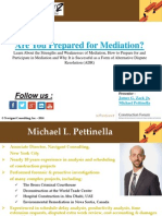 Are You Prepared for Mediation?