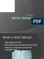 Note Taking
