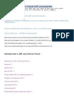 Tutoriales Simples en Oracle ADF Principiantes