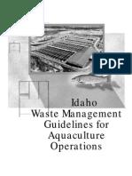 Aquaculture Guidelines