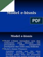 5. Model E-bisnis & Evolusi