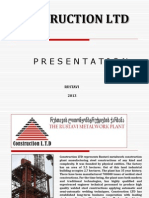 Construction Ltd Presentation 2014 ENG