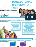Programa hecho por y para jóvenes de Getxo