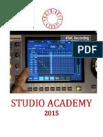 STUDIO ACADEMY 2015
