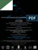 Banalità e Banalizzazione Della Violenza - Brescia 20 Maggio 2015