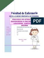 Pae Leucemia Niña Lazarte