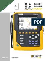 Qualistar CA8333 User Guide