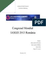 Congresul Mondial IASGO 2013 2