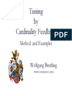 Tuning by Cardinality Feedback.ppt
