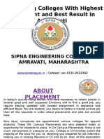 Engineering Colleges With Highest Placement and Best Result in Amaravati