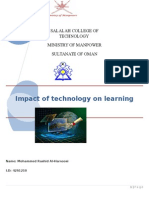 Impact of Technology on Learning