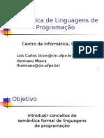 Semântica de Linguagens de Programação